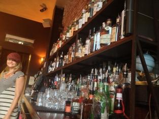 All the many tasty liquors...