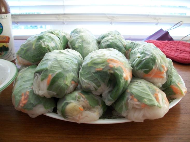 Make It: Thai Fresh Spring Rolls (6/6)