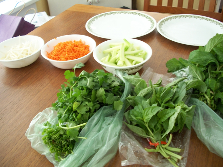Make It: Thai Fresh Spring Rolls (5/6)