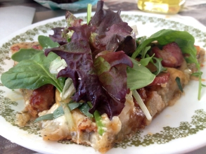 Pizza with Greens!
